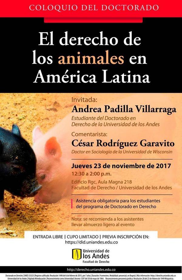 evento derecho animal
