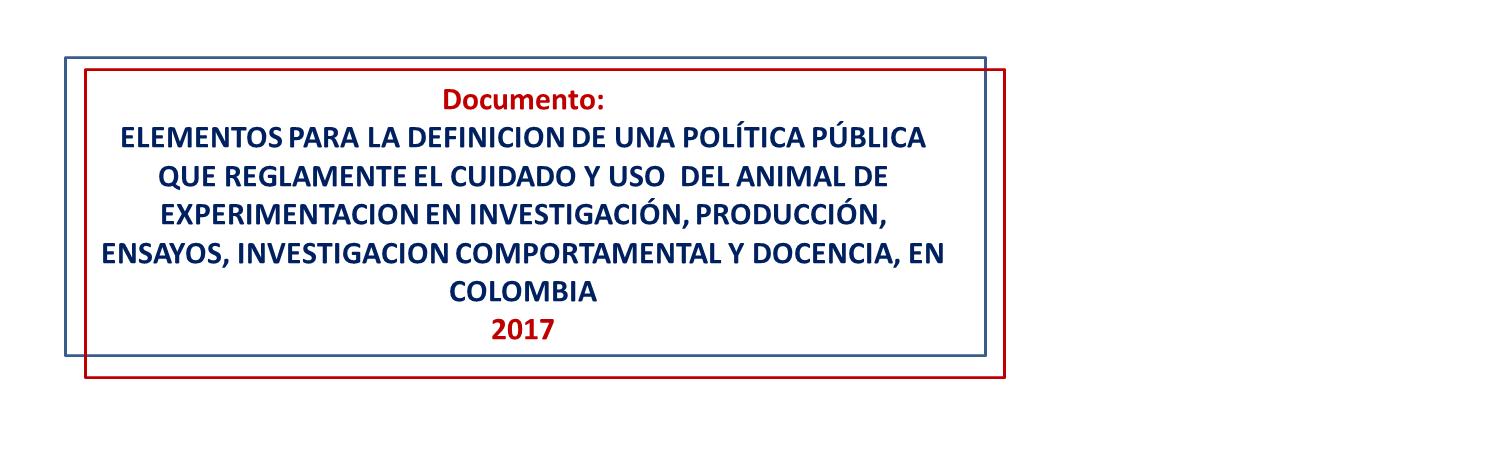 politica publica animales experimentacion docencia