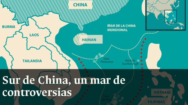 Sur de China, un mar de controversias
