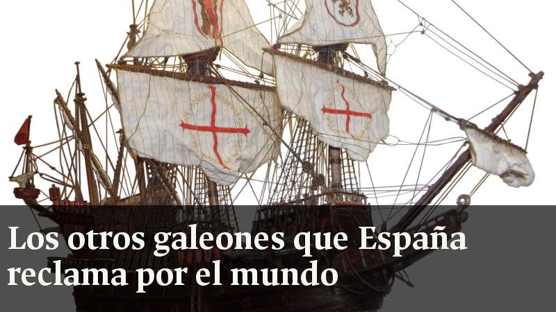 Otros galeones que España reclama