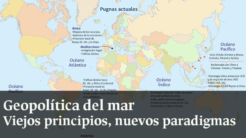 Geopolítica del mar. Viejos principios, nuevos paradigmas