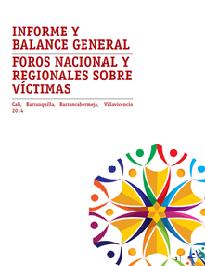 Foros nacional y regionales sobre víctimas